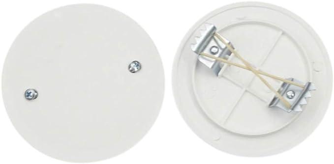 Tapa para caja redonda, diámetro: 85 mm): Amazon.es: Iluminación