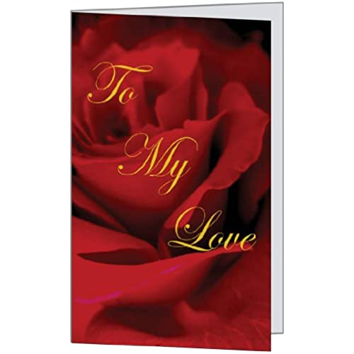 Sweet Dear Rose Romantic Love Him Husband Her Wife Spouse Friend Beautiful Anniversary Birthday Greetiing Card Sales