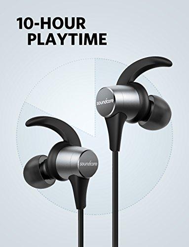 Wireless Headphones, Soundcore Spirit Pro Bluetooth Earbuds Anker Dual EQ, 10H Playtime, IP68 Waterproof, SweatGuard Technology, Hi-Fi Sound, Bluetooth Headset Mic Sports Gym by Soundcore (Image #5)