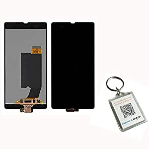 Highsound Replace LCD Touch Digitizer Screen Parts Assembly for Sony Xperia Z L36 Lt36 + Free Keychain