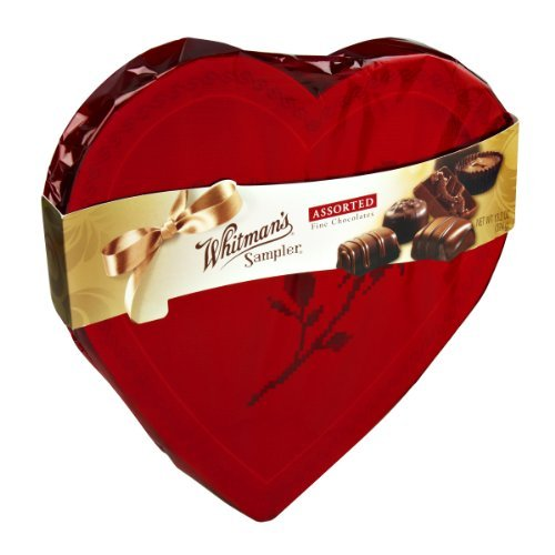 Whitman's Valentine Sampler Assorted Fine Chocolates, 13.2 ()