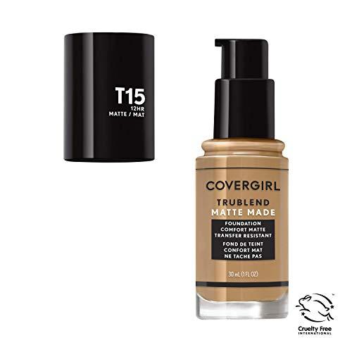 Covergirl Trublend Matte Made Liquid Foundation, T15 Golden Honey, 1 Fl Oz