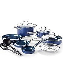 Blue Diamond Cookware Set, 12-Piece