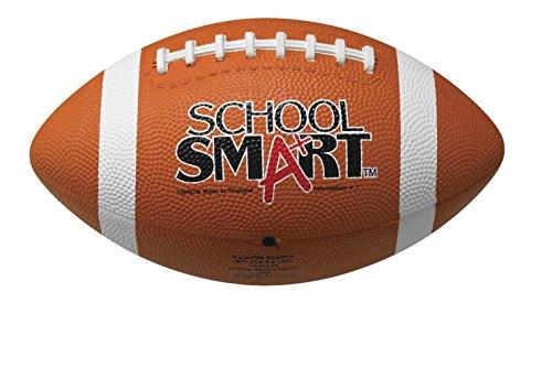School Smart Rubber Football - Regulation Official Size