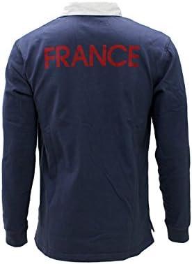 Nike Polo Rugby Francia m/l: Amazon.es: Deportes y aire libre
