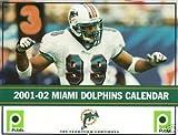 2001-2002 Miami Dolphins Calendar - JASON TAYLOR cover