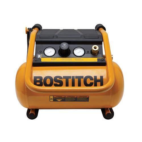 BOSTITCH BTFP01012 2.5-Gallon Suitcase-Style Compressor ()