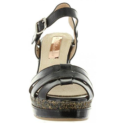Sandali Donna 30555 Negro Metalizado Per Xti AfgPqwOP