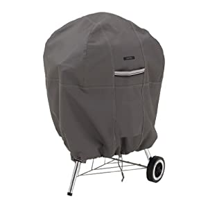 Classic Accessories Ravenna Kettle Grill Cover - Premium Outdoor Grill Cover with Durable and Water Resistant Fabric (55-178-015101-EC)