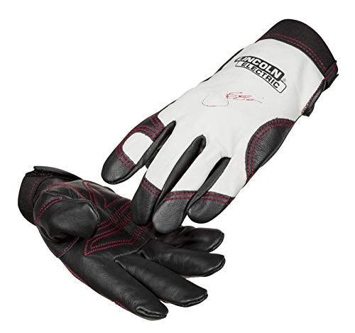 Lincoln Electric Women's Full Grain Leather Work Gloves   Padded Palm   Women's Small   K3231-S