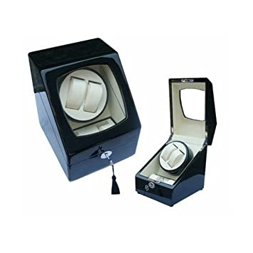 64325c2a5 Watch Winder (1 motor 2 relojes) Black-Cream: Amazon.es: Juguetes y juegos