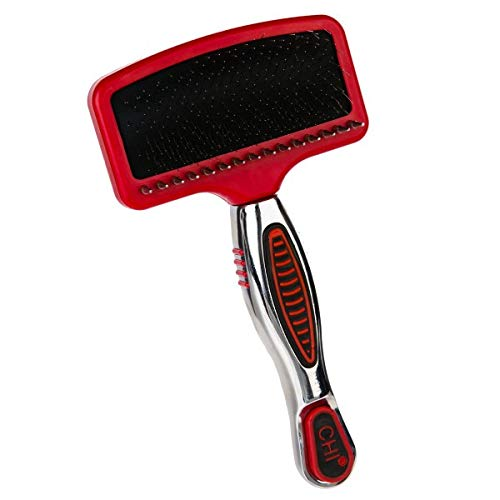 CHI for Dogs Combo Slicker & Shedding Rake   Best Grooming Tools for Dogs with Long Hair