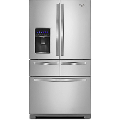 Whirlpool - 25.8 Cu. Ft. French Door Refrigerator - Monochro