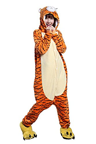 Anime Pajama Adult di Tiger Unicorn Missley Costume Jumping Cosplay Costume Halloween f5nUnt7x