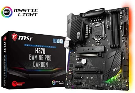 MSI H370 GAMING PRO CARBON - ATX Motherboard for Intel