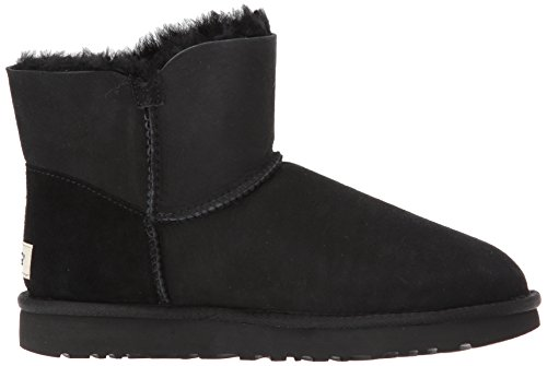 Nero Mini Bailey Poppy Button Neve Stivali Donna Da Australia Ugg zvxOq11