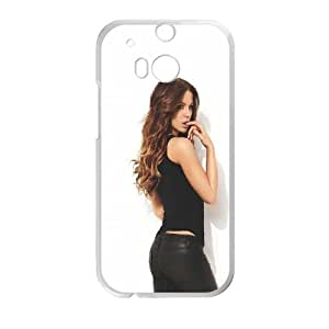 Celebrities Kate Beckinsale HTC One M8 Cell Phone Case White Exquisite gift (SA_706363)