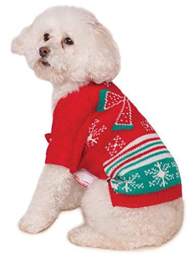Rubie's Pet Ugly Christmas Sweater Costume -