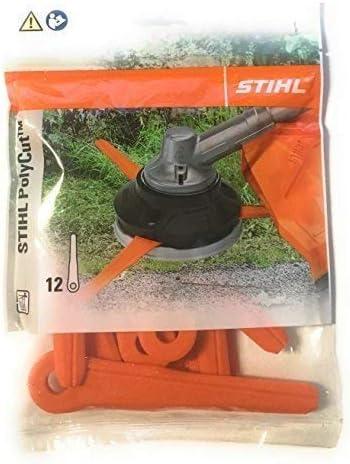 Für Stihl Klingen PolyCut 20-3 40-3 Kunststoffmesser 4111 007 1001 12 Stck.