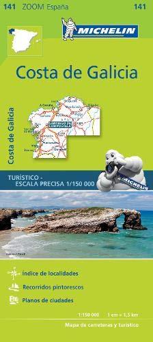 Costa de Galicia Zoom Map 141 (Mapas Zoom Michelin): Amazon.es: Vv.Aa, Vv.Aa: Libros