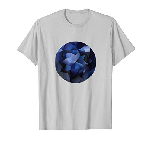 (Blue Diamond Rock Rare Gems - Back To School Tshirt)