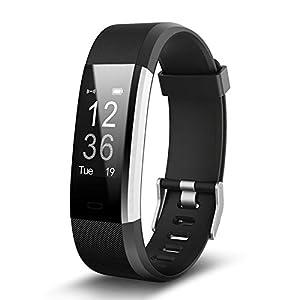 Montre Connectée,Willful SW333 Bracelet Connecté étanche Fitness Tracker d'Activité Bracelet Sport avec Cardiofréquencemètre,Sommeil,Podomètre,Calories,Rappel d'APP pour iPhone Android Femme Homme
