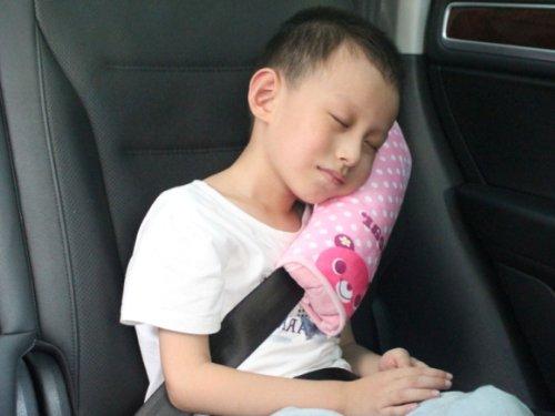 UPC 602303107457, SuPoo Headrest Support Pillow Car Seat Belt Shoulder Pad Pillow (Pink) (Pink1)