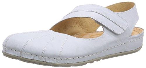 DR.BRINKMANN Ballerinas, Womens Sandalen, Ballerinas, DR.BRINKMANN weiss, 710558-3 B00DQQP96A Shoes 443c62