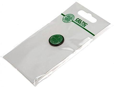 Metal Crest Badge* Enamel finish CELTIC F.C Stud fix Official Licensed Product