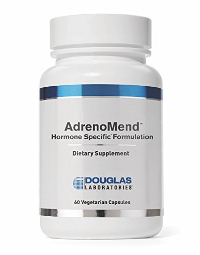 Douglas Laboratories- Adrenomend - Ten Herbal Adaptogens to Support Adrenal Gland Function During Stress* - 120 Capsules