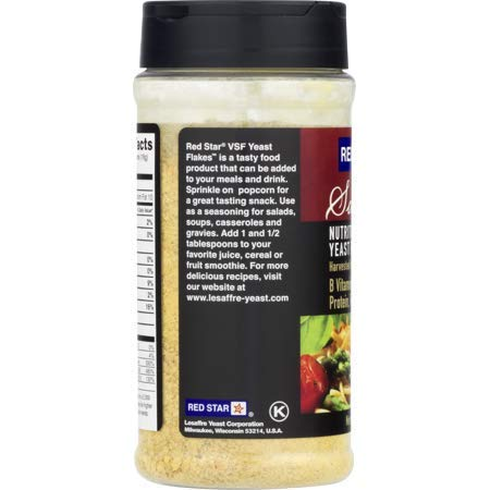 Red Star Yeast Flake Nutritional Shaker Jar, 5 oz (Pack of 4) by Red Star (Image #2)