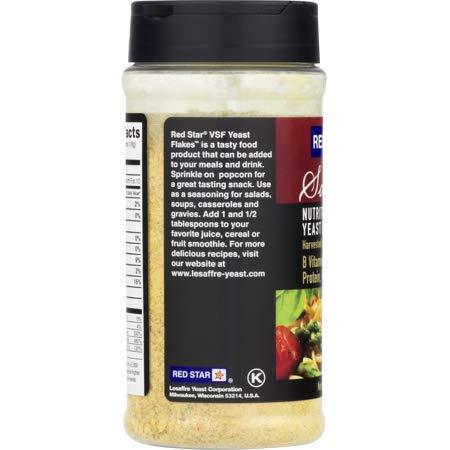 Red Star Yeast Flake Nutritional Shaker Jar, 5 oz