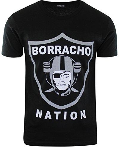 Borracho Nation Raider Nation Shirt M (Football Angeles Los State)