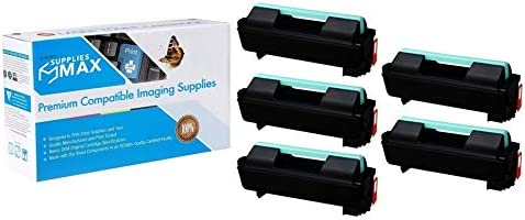 SuppliesMAX Compatible Replacement for Xerox Phaser 4600//4620//4622 GSA Toner Cartridge 106R02638/_5PK 5//PK-30000 Page Yield