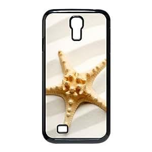 Diy Starfish On The Beach Phone Case for samsung galaxy s4 Black Shell Phone JFLIFE(TM) [Pattern-1] Kimberly Kurzendoerfer
