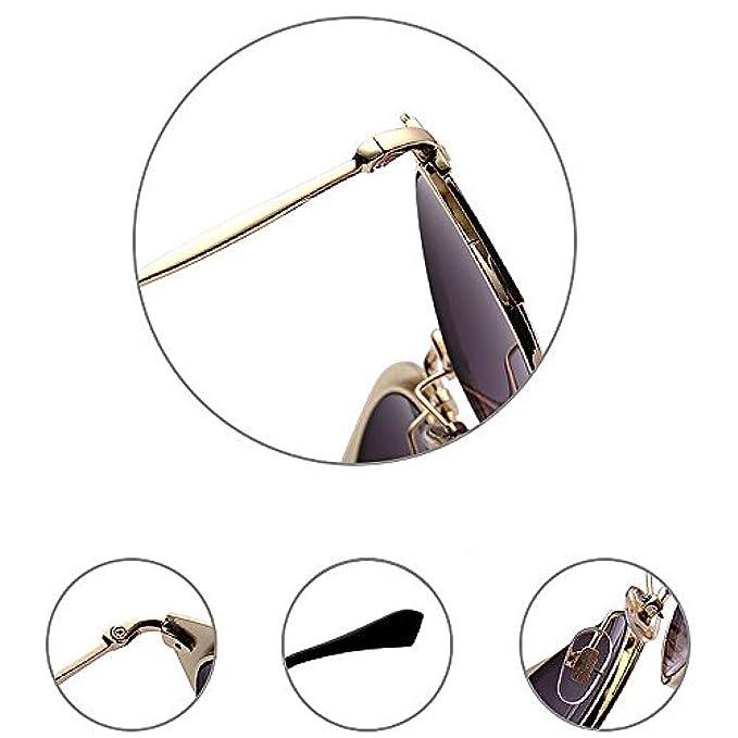 Le Occhiali Per Lenti Donne Sole Easy Uv New Semi-prive Con Colorate Protezione Shopping Da Go