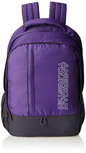 American Tourister Purple Casual Backpack (AMT ALLER2016 BACKPACK01_8901836129328)