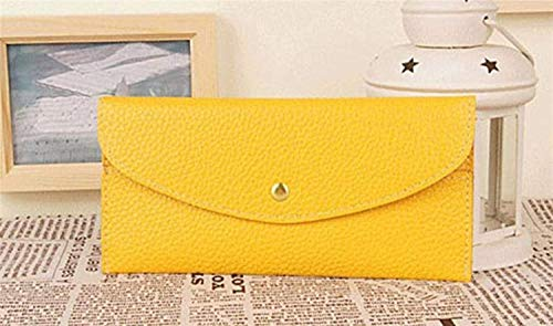 Usted Meidi Tarjeta Ultra Las Paquete Largo La Caramelo De Monedero amarillo Bolso Home Color Y Fino Sobres Del Mujeres q6qRwU8r