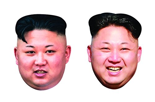 Aahs Engraving Kim Jong-un Party Mask, One Size, 2 Count ()