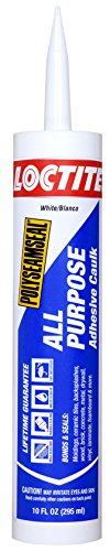 Loctite Polyseamseal White All Purpose Sealant, 10-Fluid Ounce Cartridge (2154751)