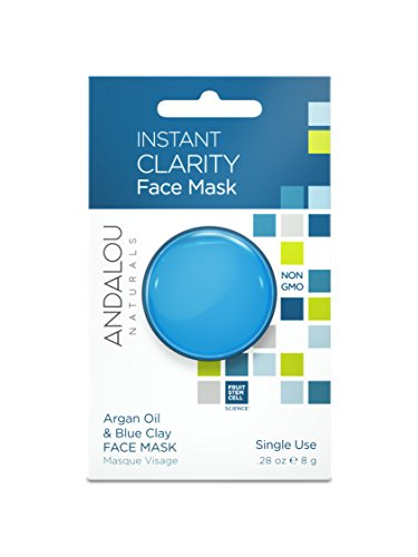 tant Clarity Argan Oil & Blue Clay Mask Pod, 0.28 Ounce (Natural Pods)
