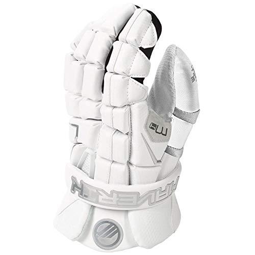 Maverik M4 Lacrosse Goalie Gloves White 13 inch