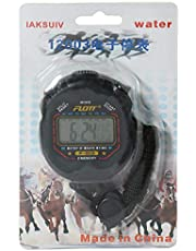 Flott Stopwatch, Black, 1 memory, MF242