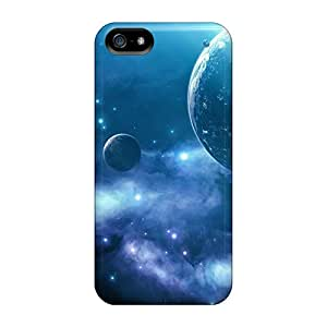 Snap-on Cases Designed For Iphone 5/5s- Outer Space Planets