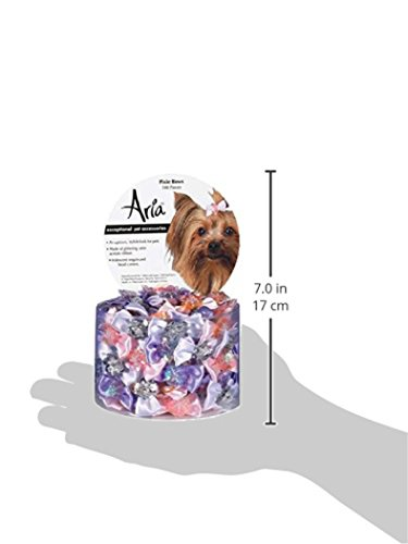 Aria Pixie Bows for Dogs, 100-Piece Canisters by Aria (Image #4)
