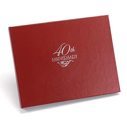 Hortense B. Hewitt 40th Anniversary Guest Book]()