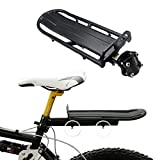 SaveStore Bicycle Rack Adjustable Bicycle Luggage Carrier Holder Aluminum Alloy Bike Mount Rear Seat Rack Trunk for Bicycle Accessories
