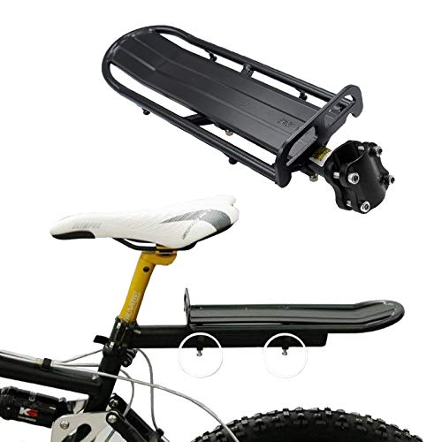 SaveStore Bicycle Rack Adjustable Bicycle Luggage Carrier Holder Aluminum Alloy Bike Mount Rear Seat Rack Trunk for Bicycle Accessories by SaveStore