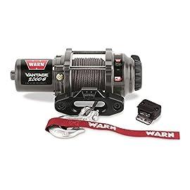 WARN 89021 Vantage 2000-S Winch – 2000 lb. Capacity