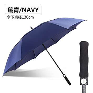 HAN-NMC Macho tres paracaídas automático PARAGUAS paraguas de Golf,B